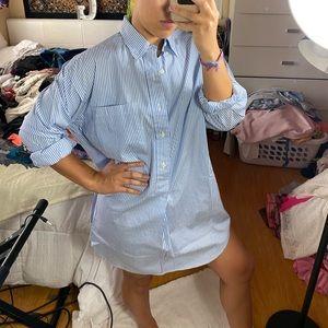 Ralph Lauren Oversized Business Shirt/Dress